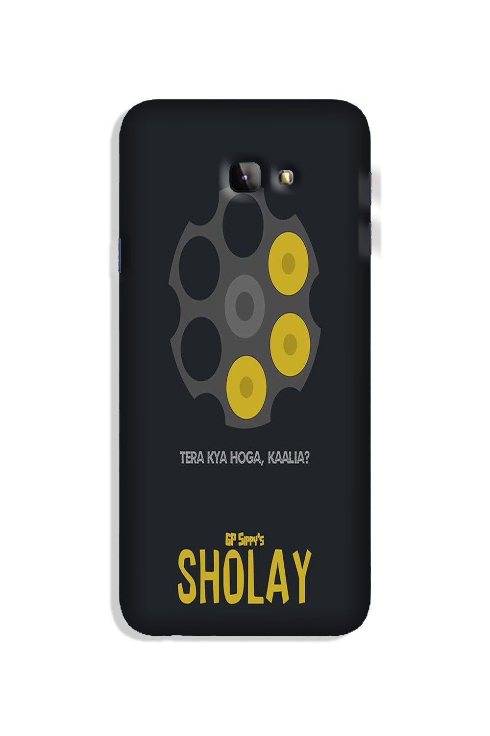 Sholay Mobile Back Case for Galaxy J4 Plus (Design - 356)