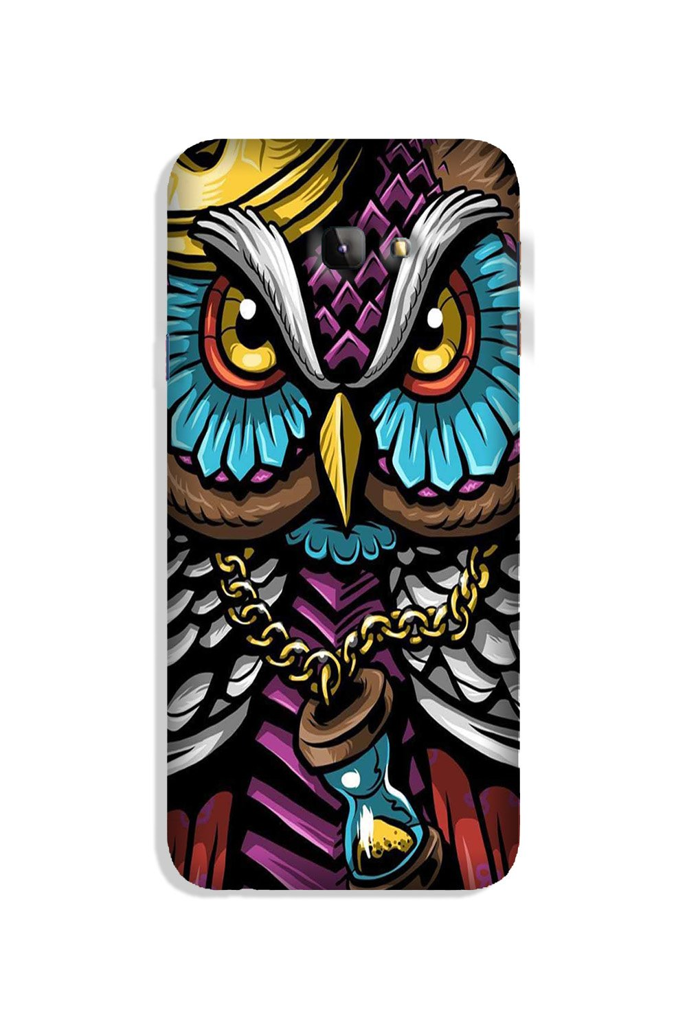 Owl Mobile Back Case for Galaxy J4 Plus (Design - 359)
