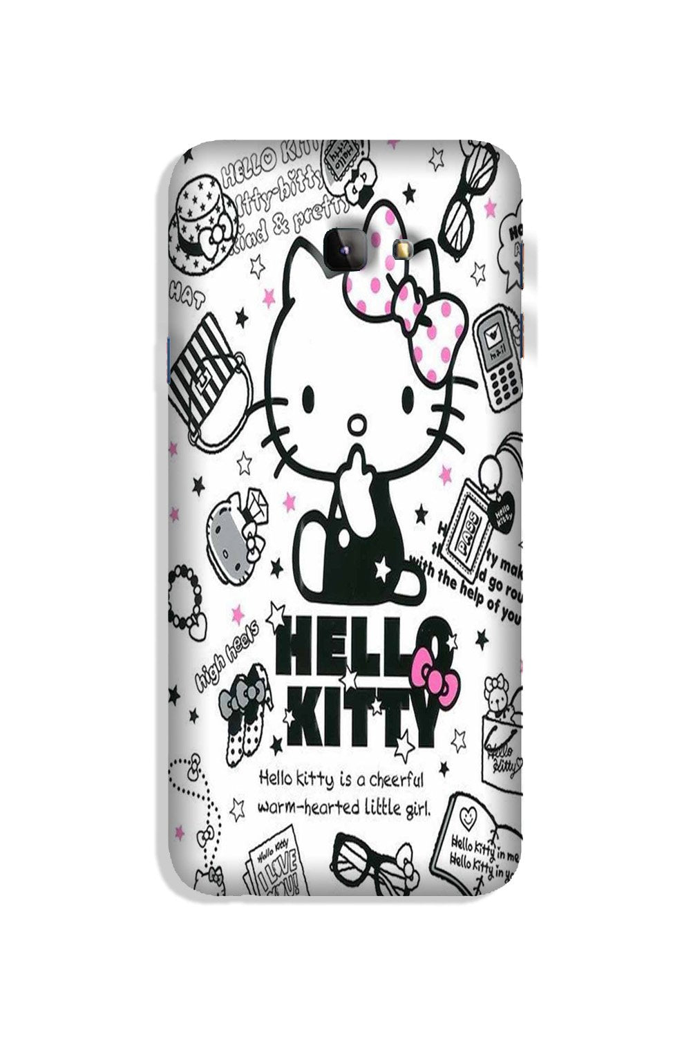 Hello Kitty Mobile Back Case for Galaxy J4 Plus (Design - 361)
