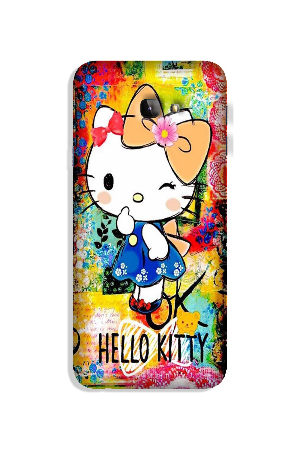 Hello Kitty Mobile Back Case for Galaxy J4 Plus (Design - 362)