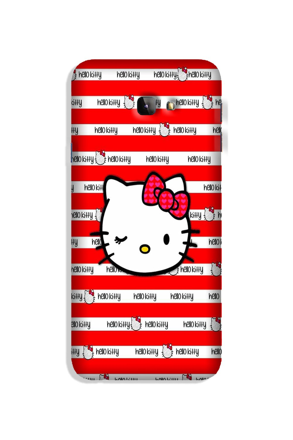 Hello Kitty Mobile Back Case for Galaxy J4 Plus (Design - 364)