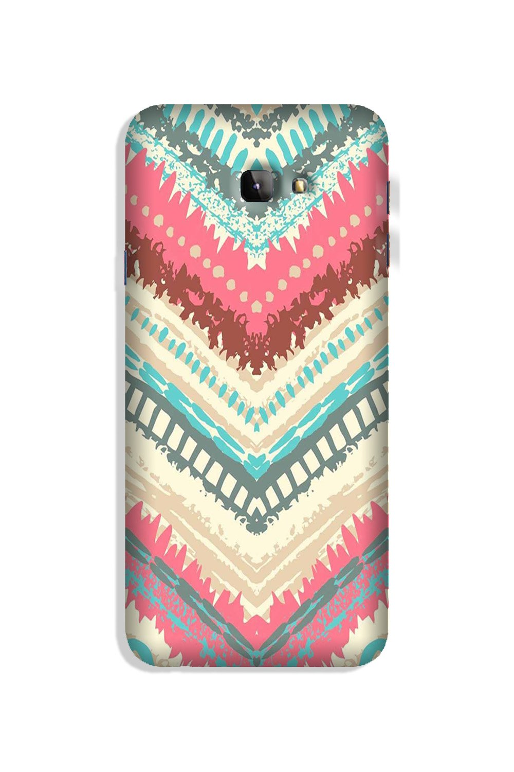 Pattern Mobile Back Case for Galaxy J4 Plus (Design - 368)