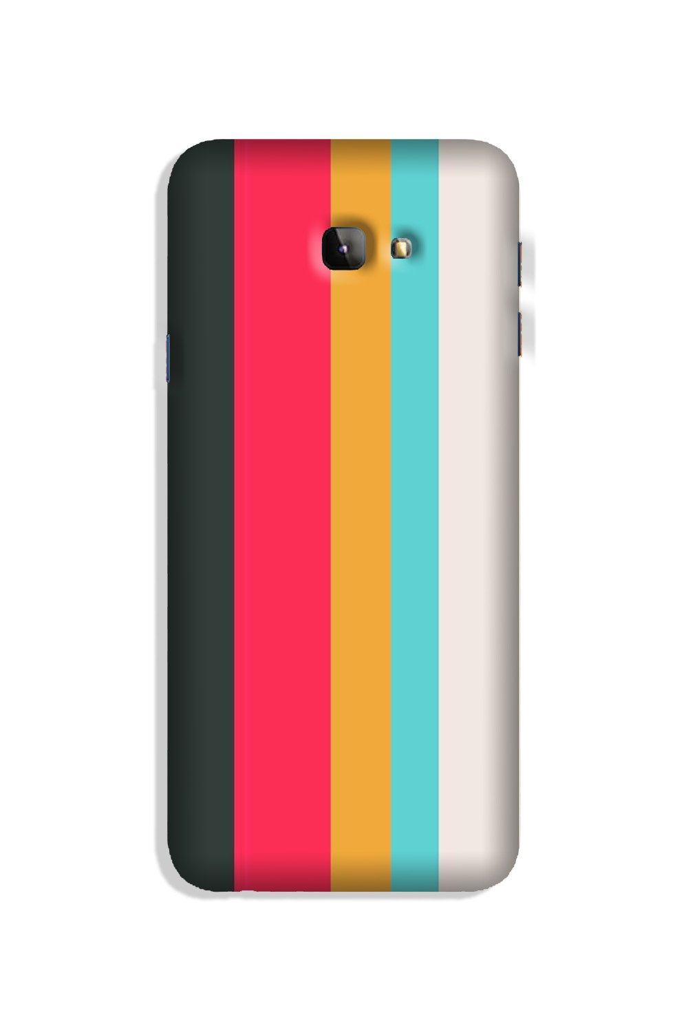 Color Pattern Mobile Back Case for Galaxy J4 Plus (Design - 369)