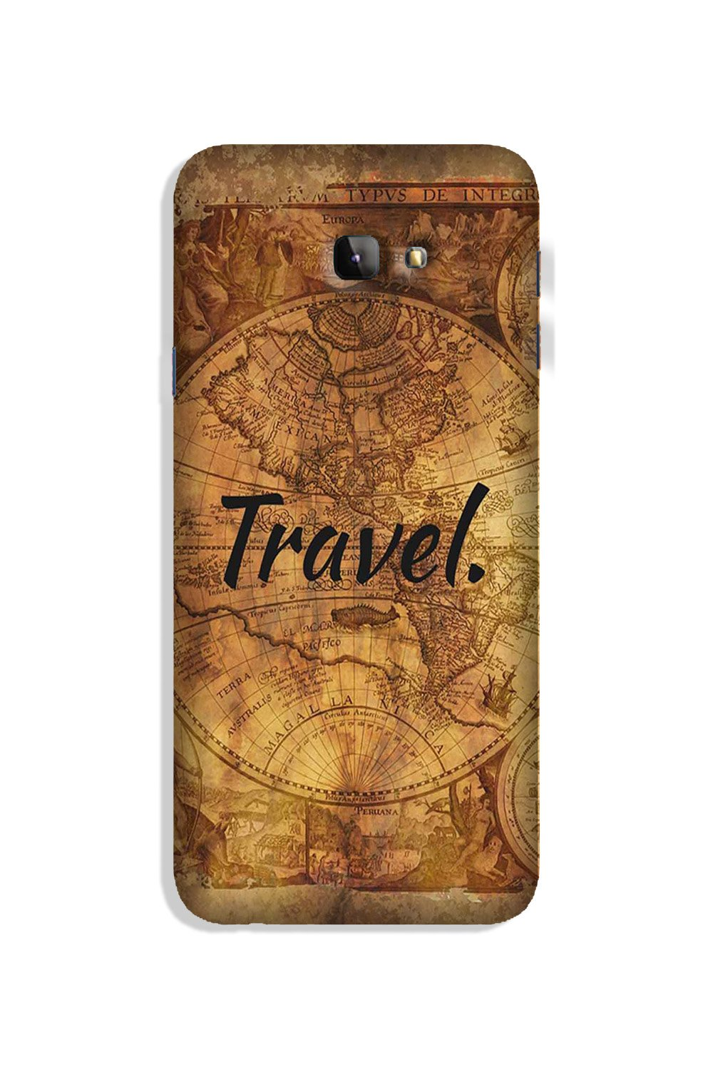 Travel Mobile Back Case for Galaxy J4 Plus (Design - 375)
