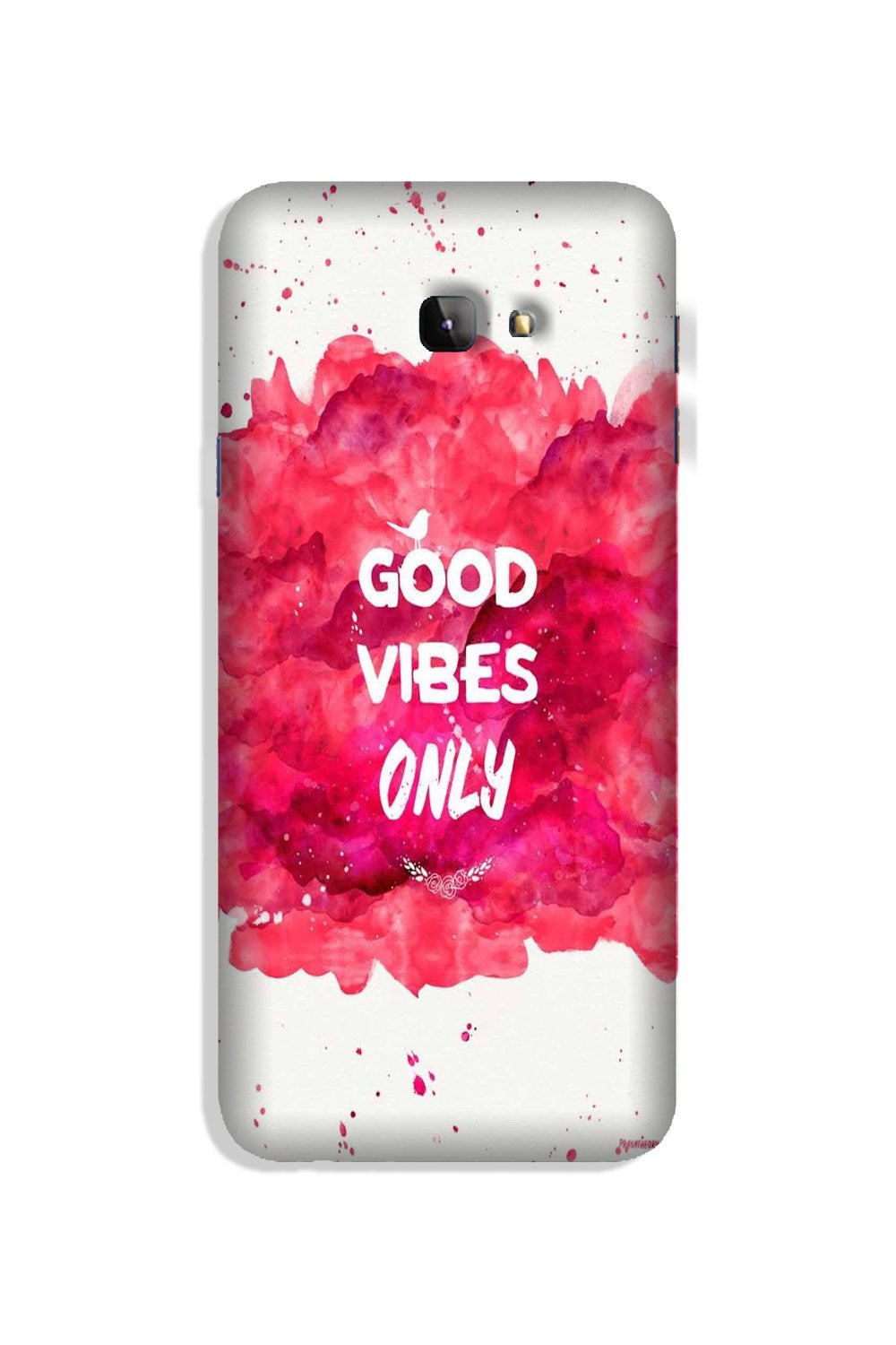 Good Vibes Only Mobile Back Case for Galaxy J4 Plus (Design - 393)