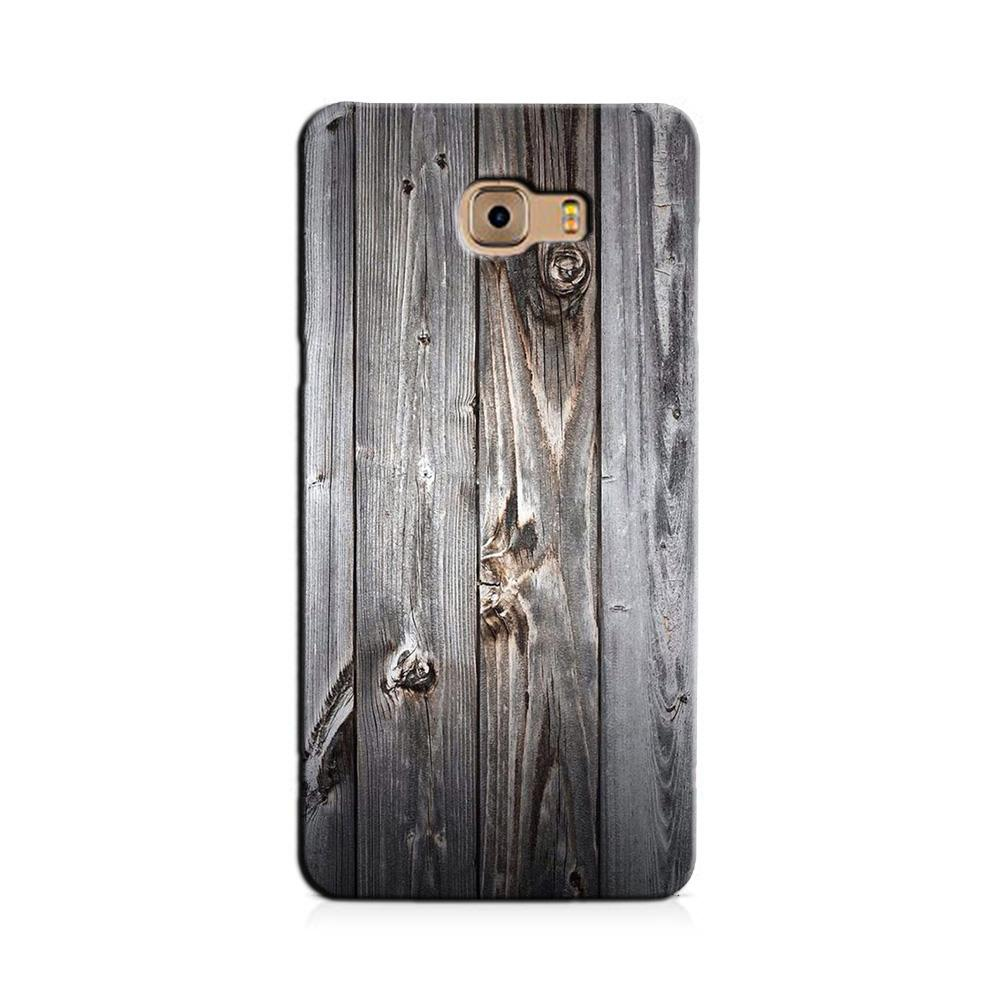Wooden Look Case for Galaxy J7 Prime  (Design - 114)