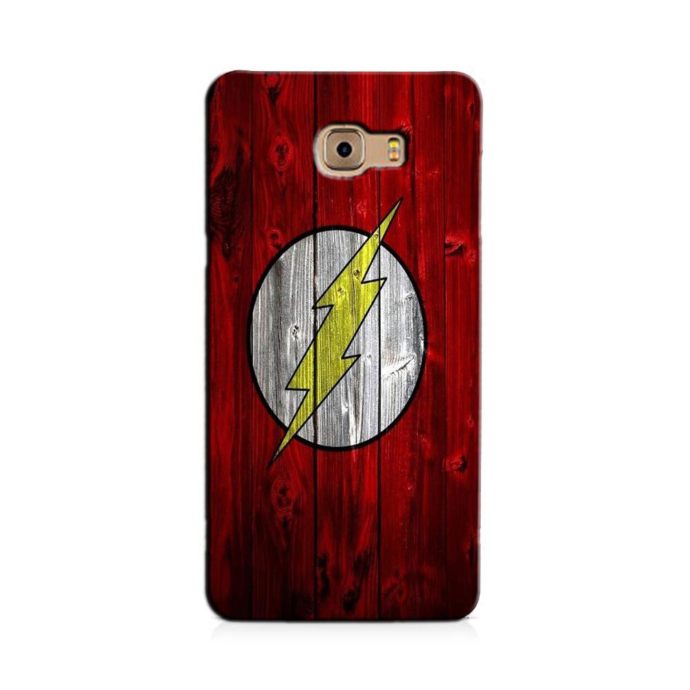 Flash Superhero Case for Galaxy J7 Prime  (Design - 116)