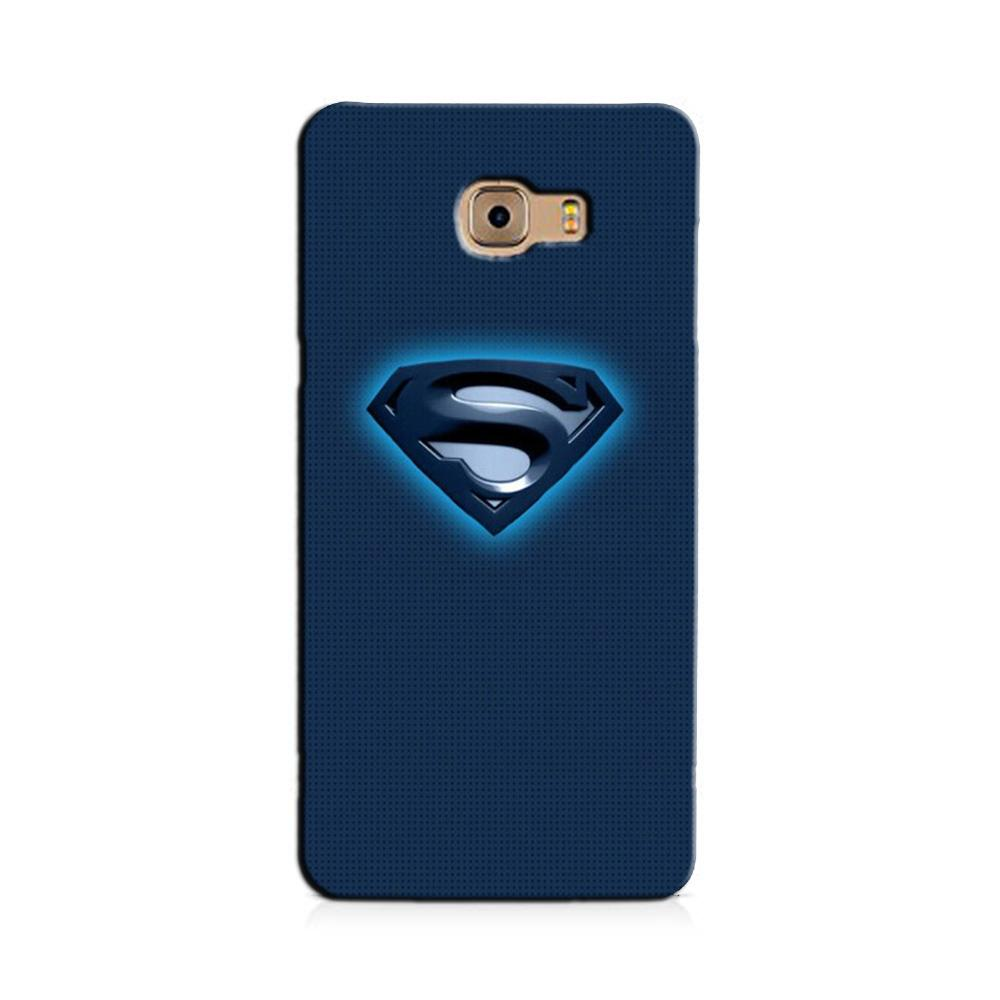 Superman Superhero Case for Galaxy J7 Prime  (Design - 117)