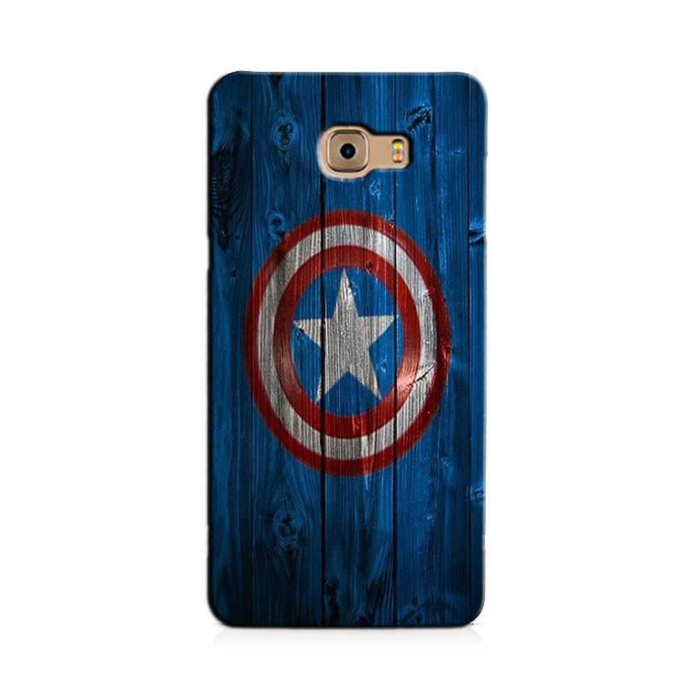 Captain America Superhero Case for Galaxy J7 Prime  (Design - 118)