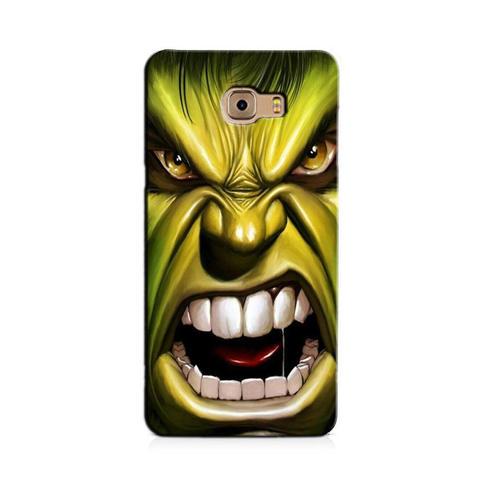 Hulk Superhero Case for Galaxy J7 Prime  (Design - 121)