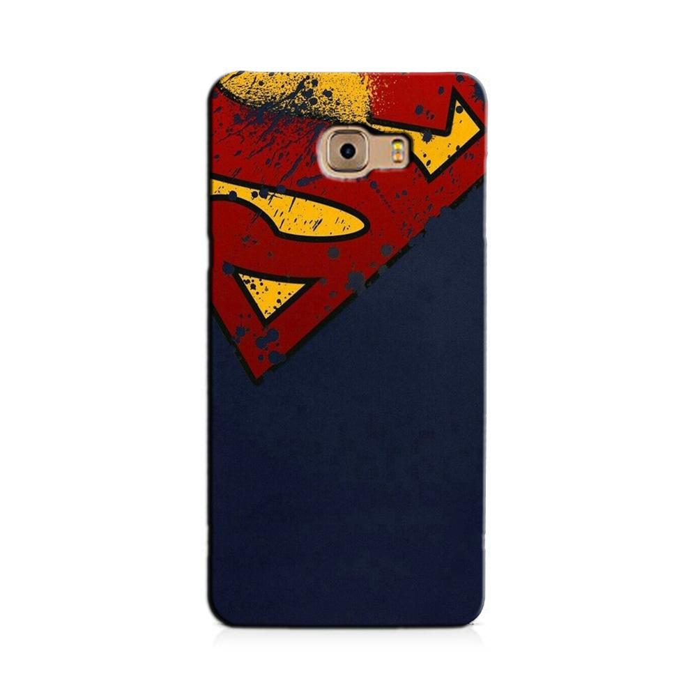 Superman Superhero Case for Galaxy J7 Prime  (Design - 125)