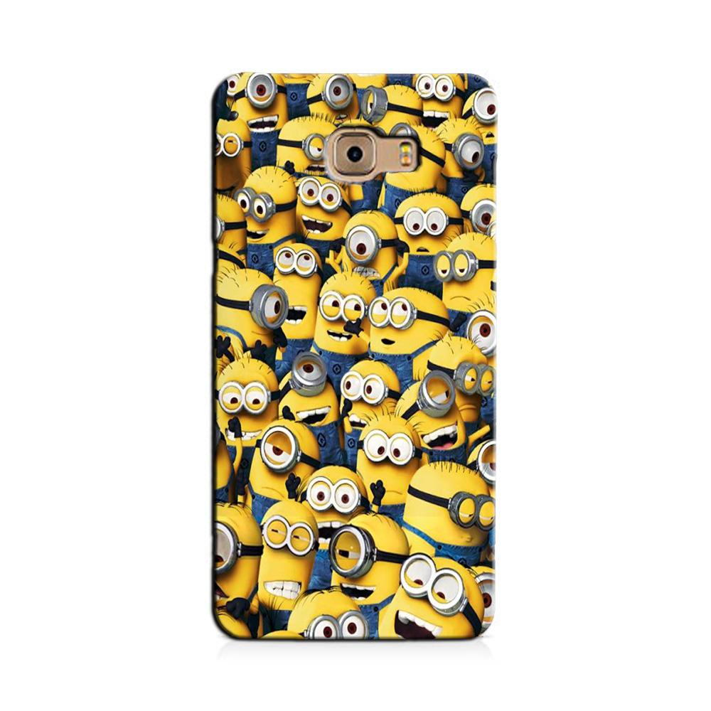 Minions Case for Galaxy J7 Prime  (Design - 126)