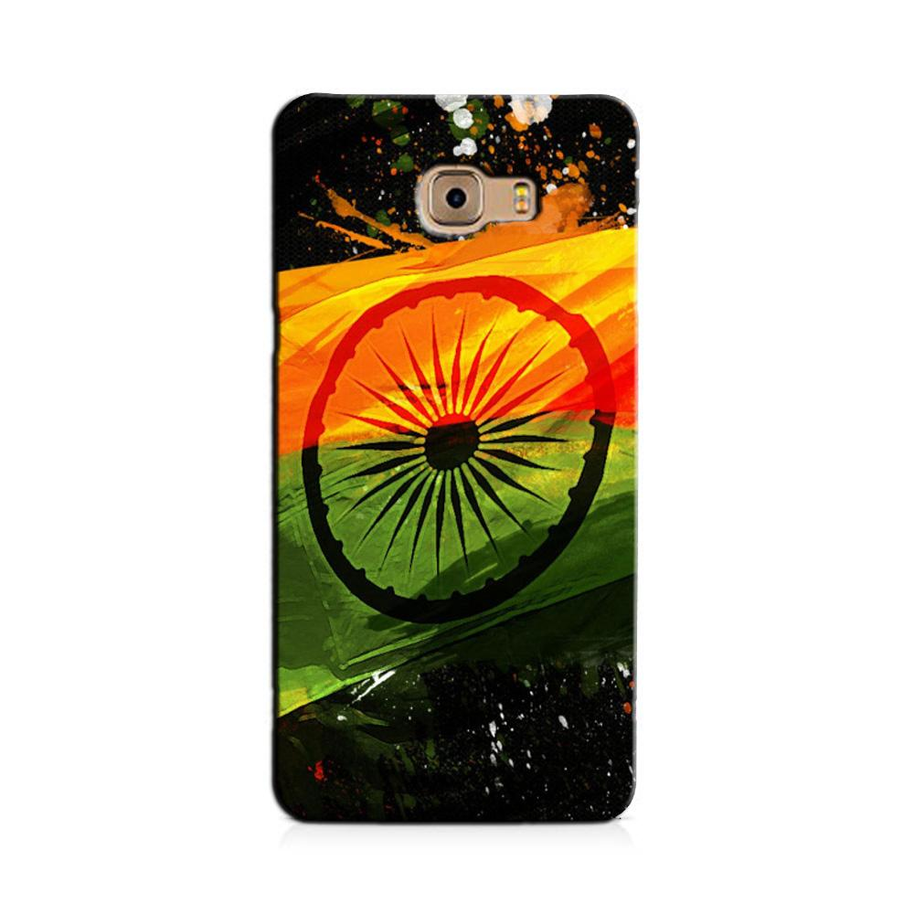 Indian Flag Case for Galaxy J7 Prime  (Design - 137)