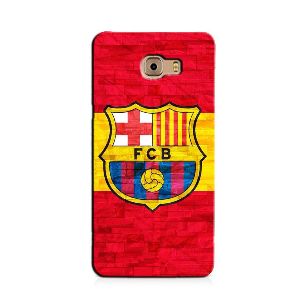 FCB Football Case for Galaxy J7 Prime  (Design - 174)