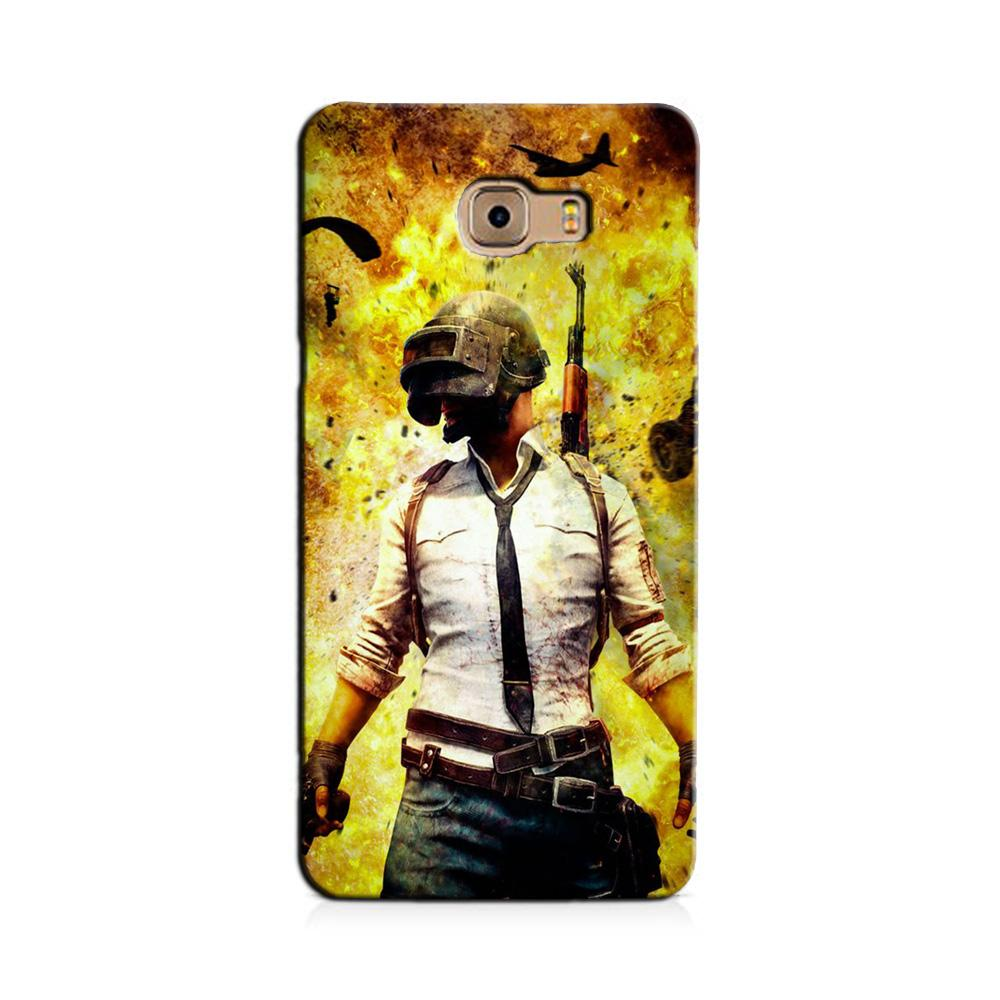 Pubg Case for Galaxy J7 Prime  (Design - 180)