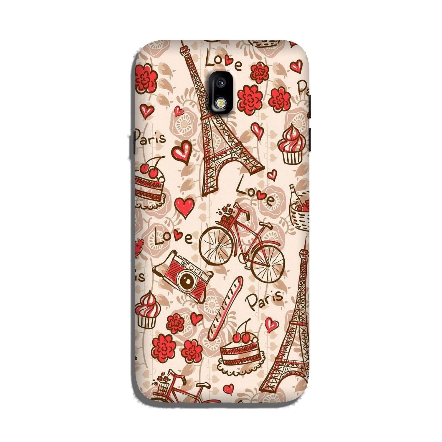 Love Paris Case for Galaxy J7 Pro  (Design - 103)