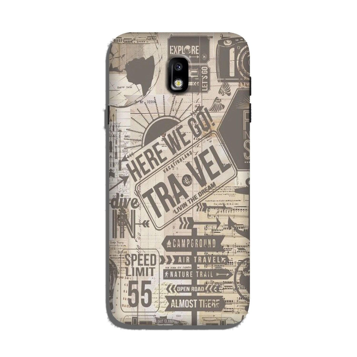 Travel Case for Galaxy J5 Pro  (Design - 104)