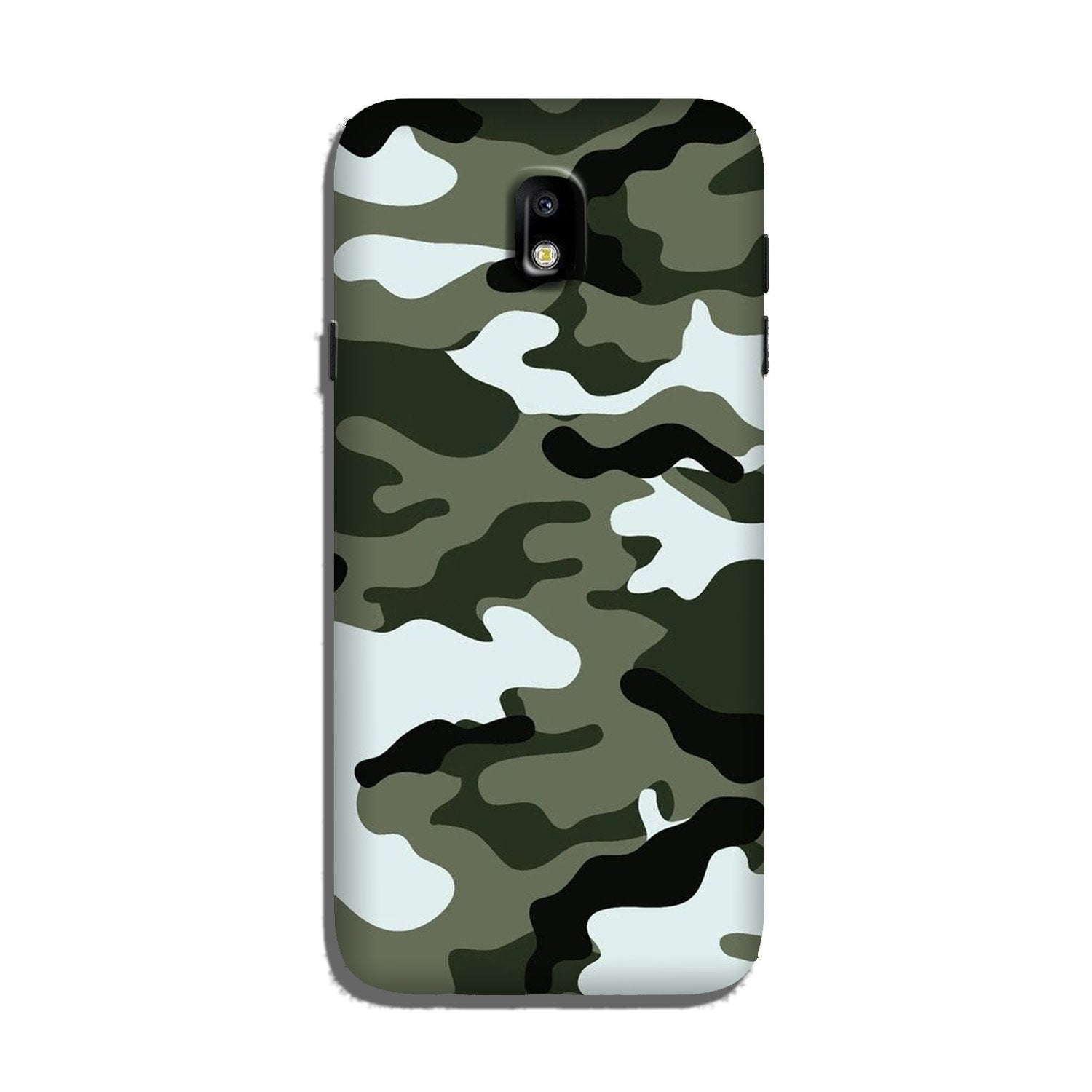 Army Camouflage Case for Galaxy J5 Pro  (Design - 108)