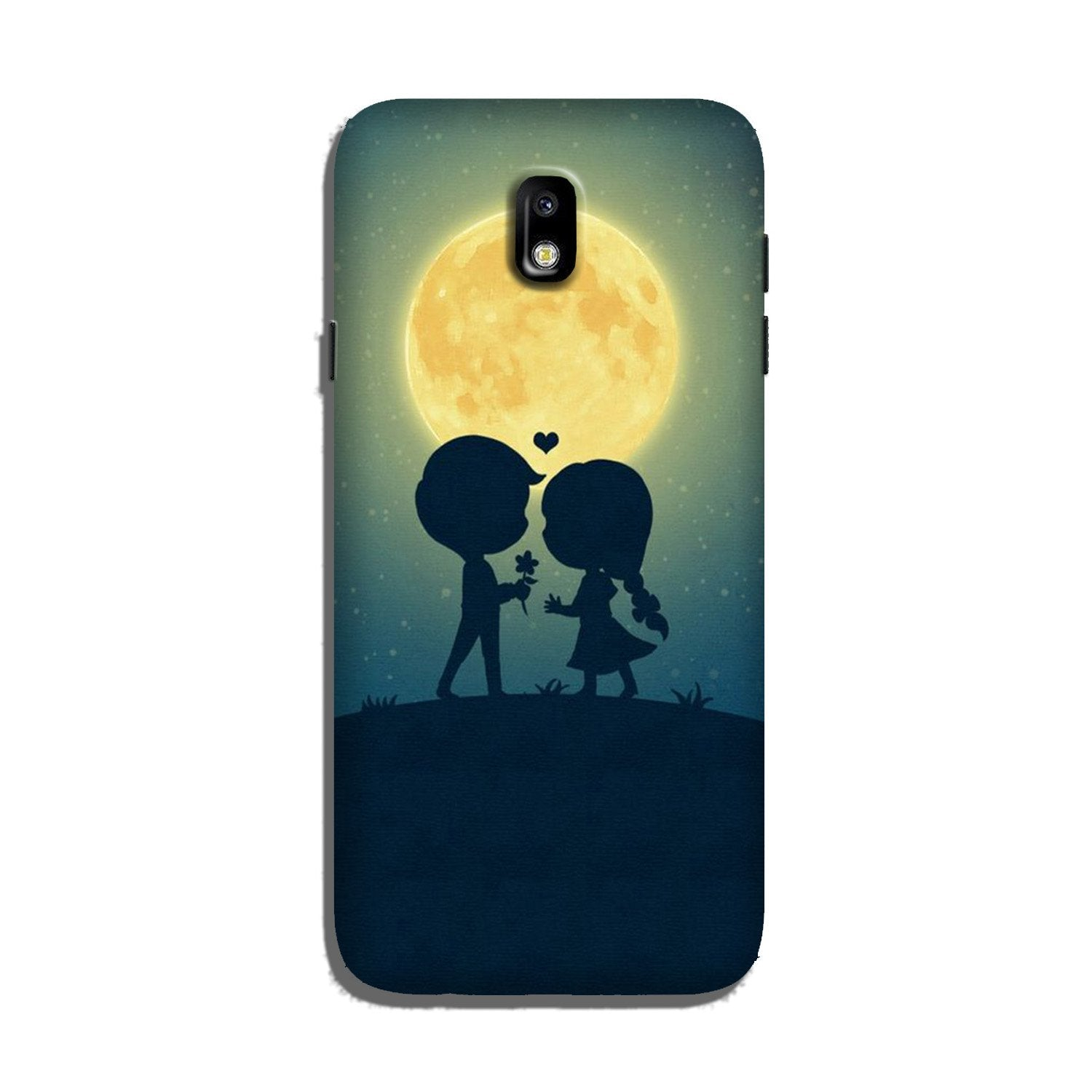 Love Couple Case for Galaxy J7 Pro  (Design - 109)