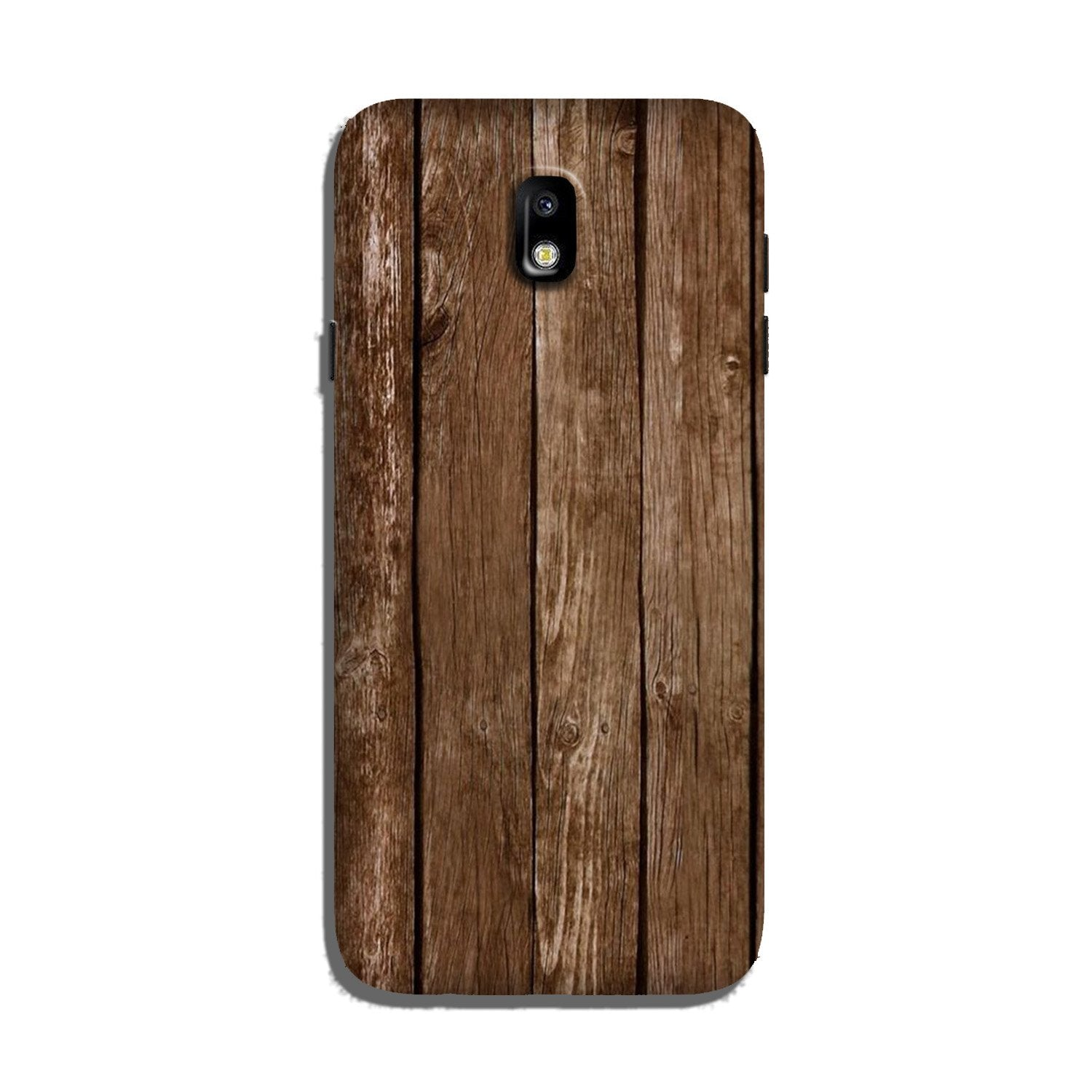 Wooden Look Case for Galaxy J7 Pro  (Design - 112)