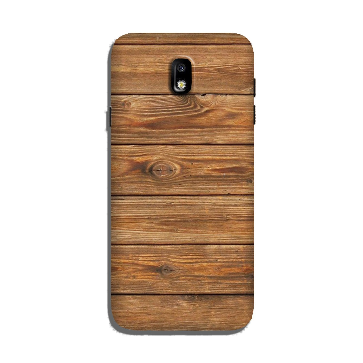 Wooden Look Case for Galaxy J7 Pro  (Design - 113)