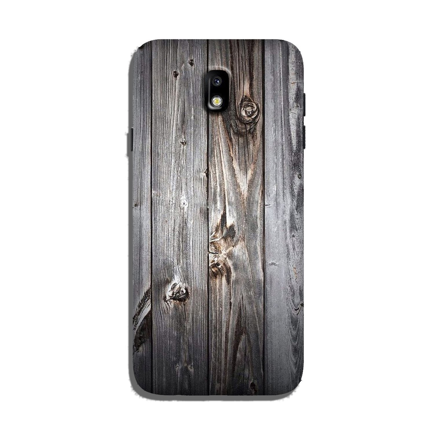 Wooden Look Case for Galaxy J7 Pro  (Design - 114)