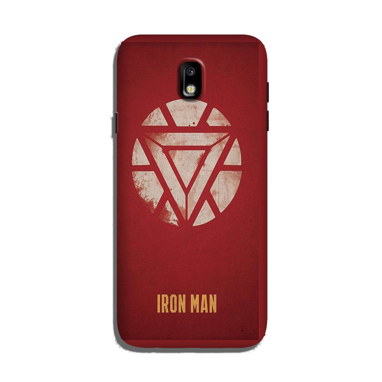 Iron Man Superhero Case for Galaxy J7 Pro  (Design - 115)