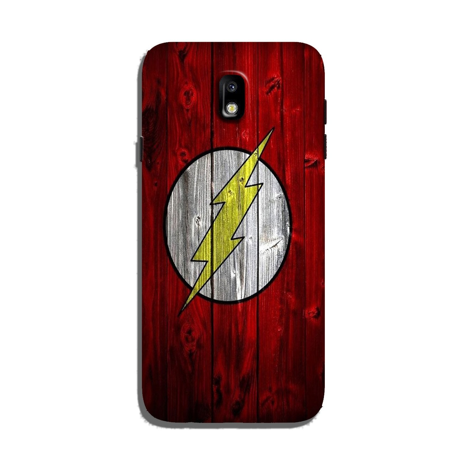 Flash Superhero Case for Galaxy J7 Pro  (Design - 116)