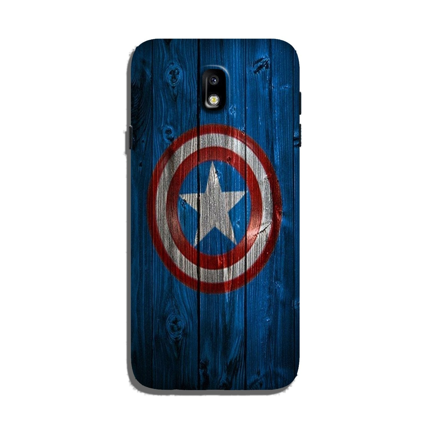 Captain America Superhero Case for Galaxy J3 Pro  (Design - 118)