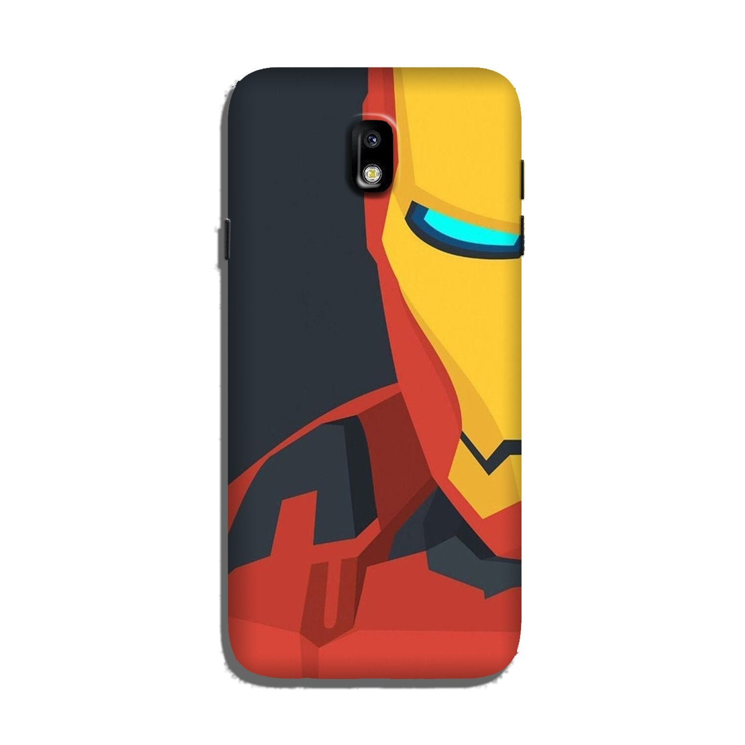 Iron Man Superhero Case for Galaxy J7 Pro  (Design - 120)