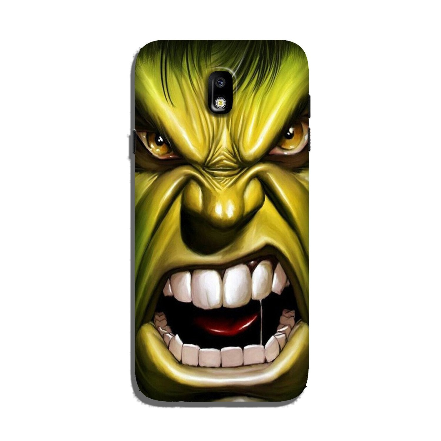 Hulk Superhero Case for Galaxy J7 Pro  (Design - 121)