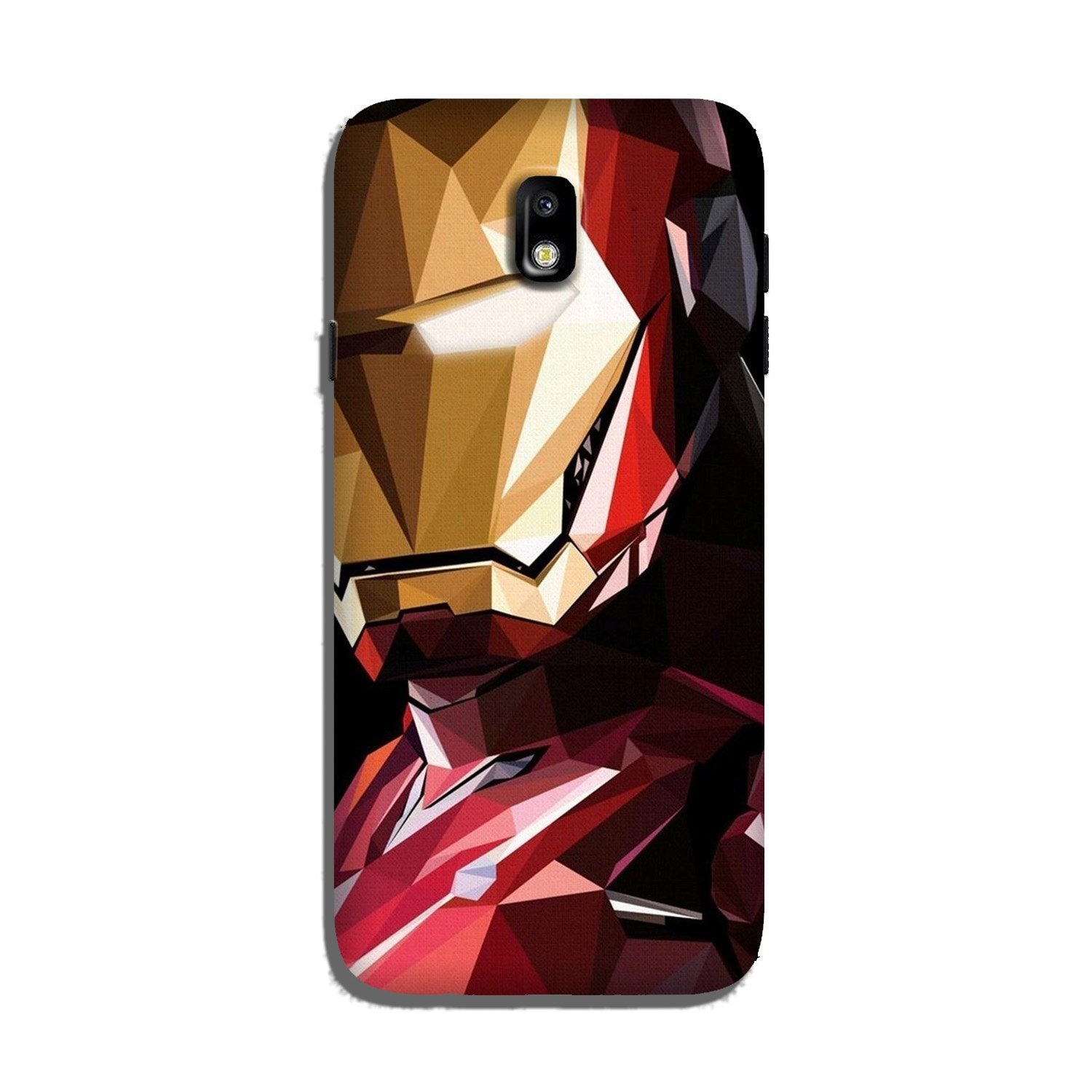 Iron Man Superhero Case for Galaxy J7 Pro  (Design - 122)