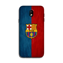 FCB Football Case for Galaxy J7 Pro  (Design - 123)