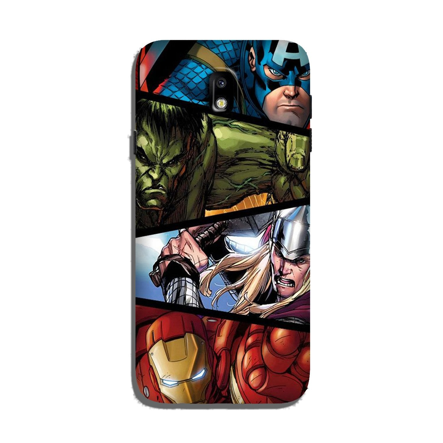 Avengers Superhero Case for Galaxy J7 Pro  (Design - 124)