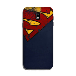 Superman Superhero Case for Galaxy J7 Pro  (Design - 125)
