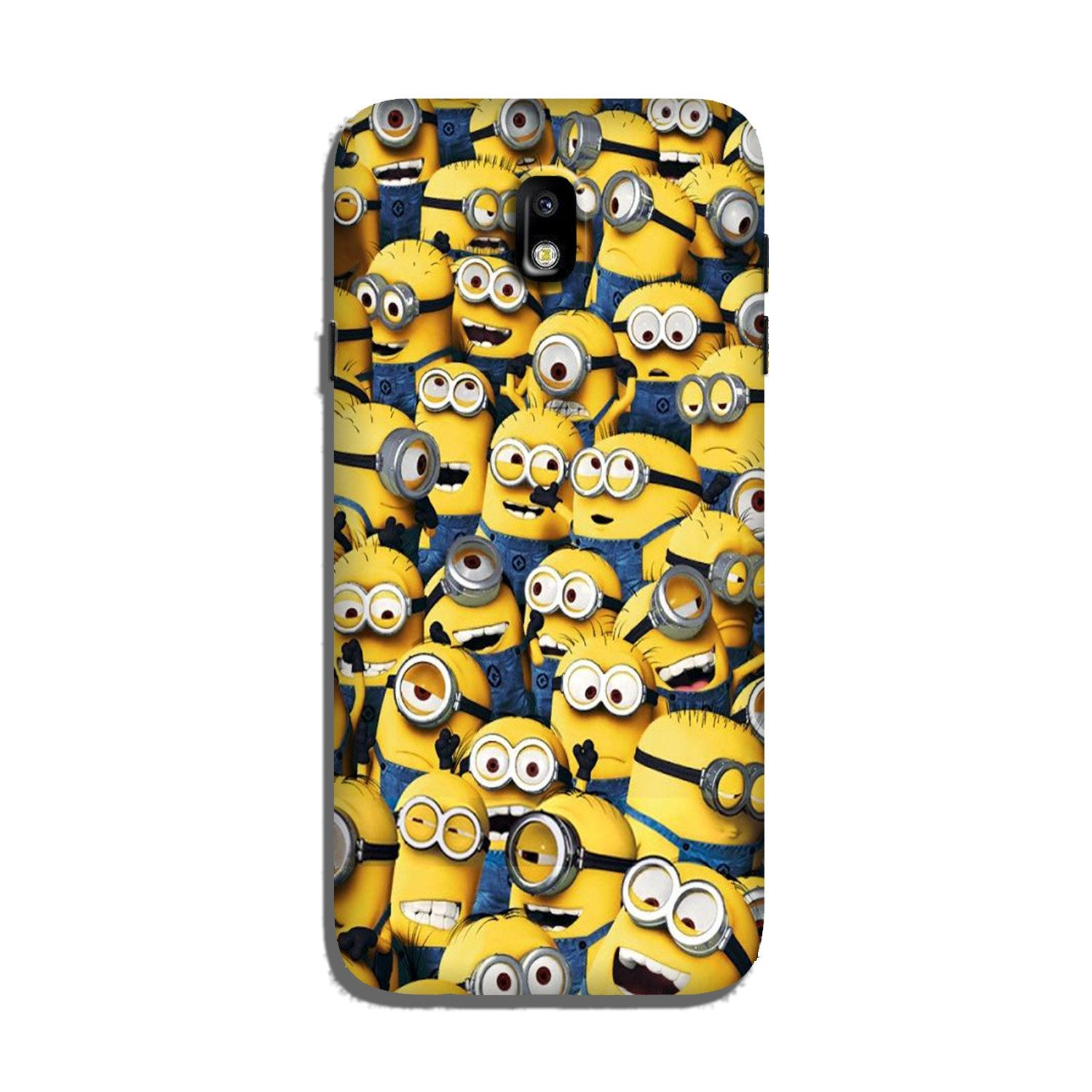 Minions Case for Galaxy J7 Pro  (Design - 126)