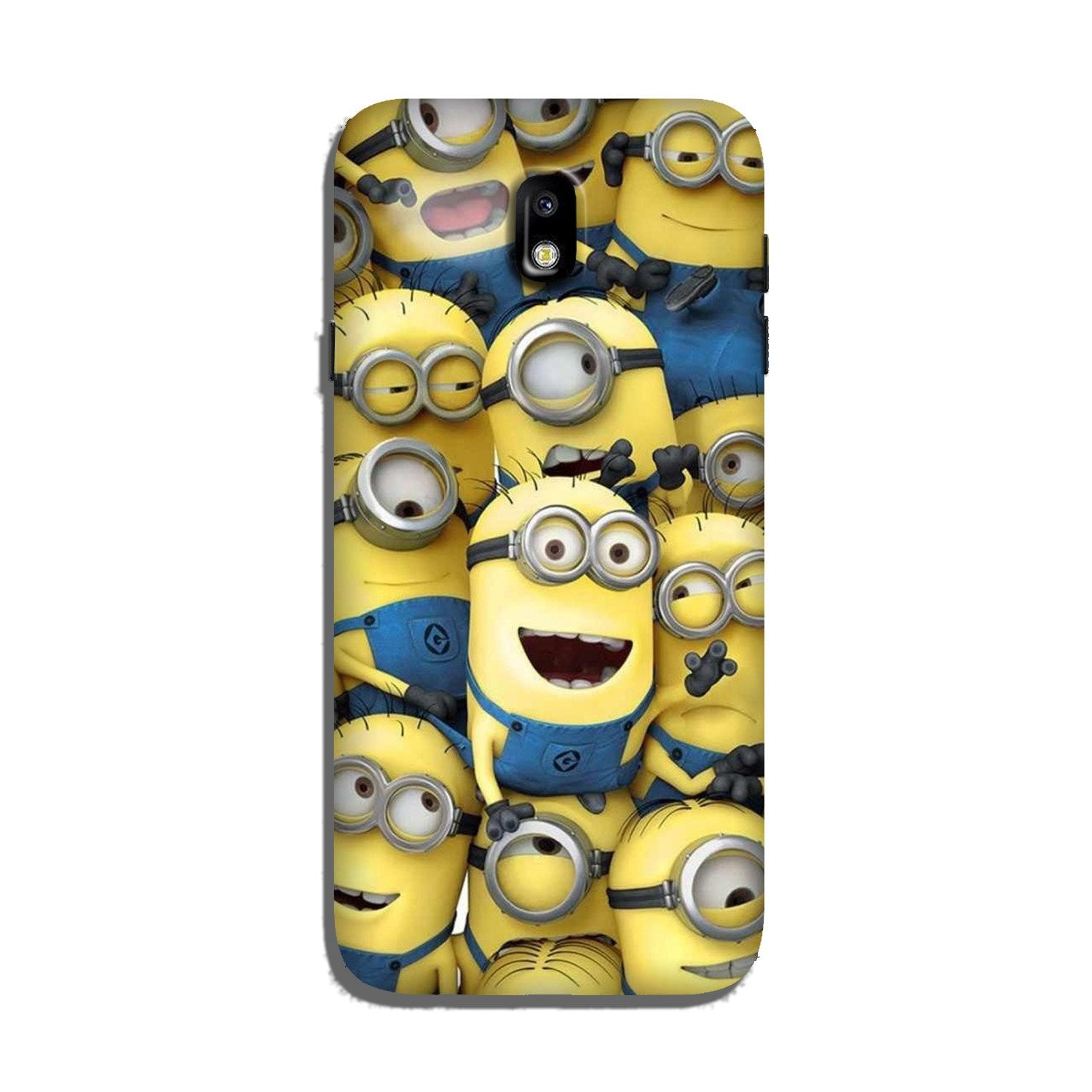 Minions Case for Galaxy J7 Pro  (Design - 127)
