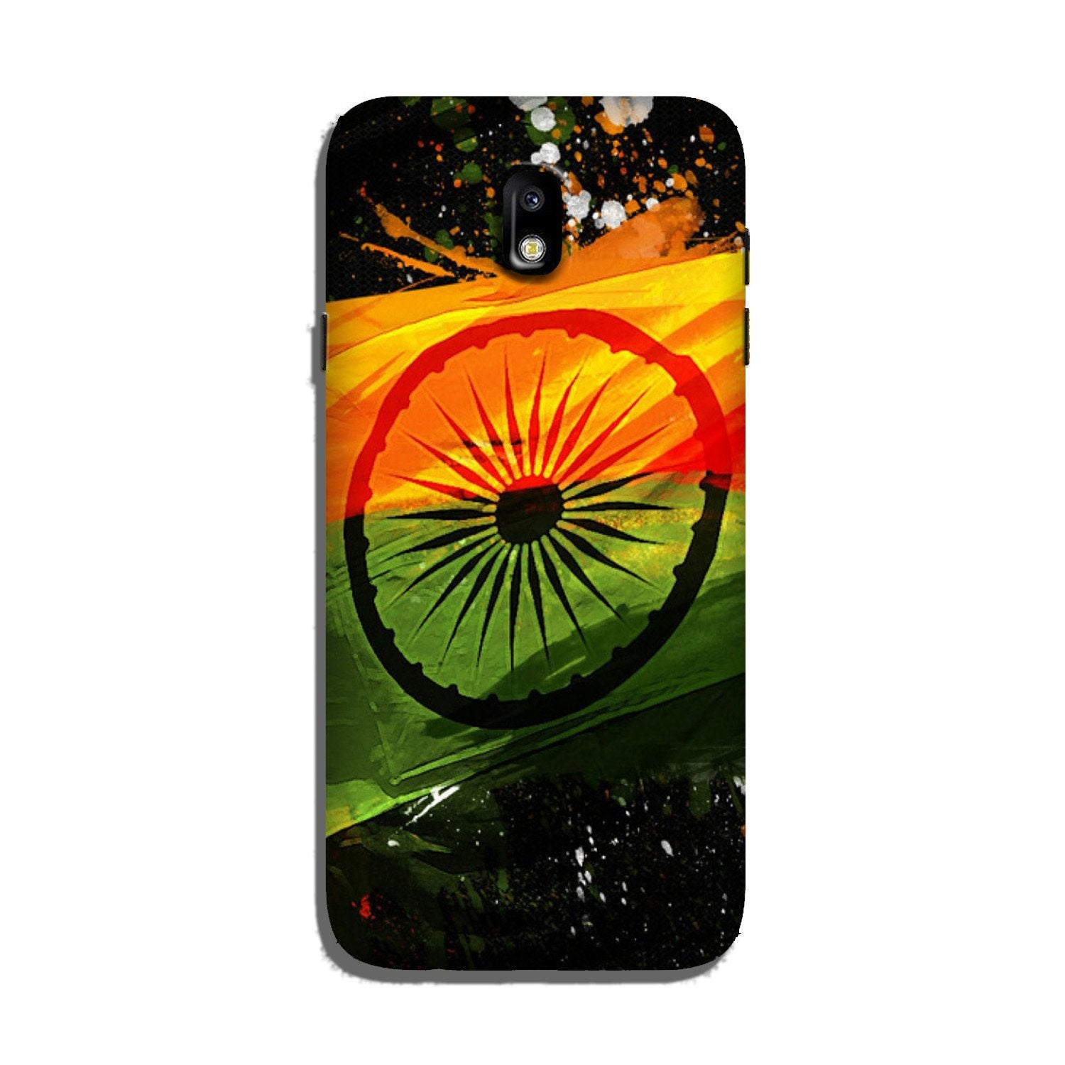Indian Flag Case for Galaxy J3 Pro  (Design - 137)