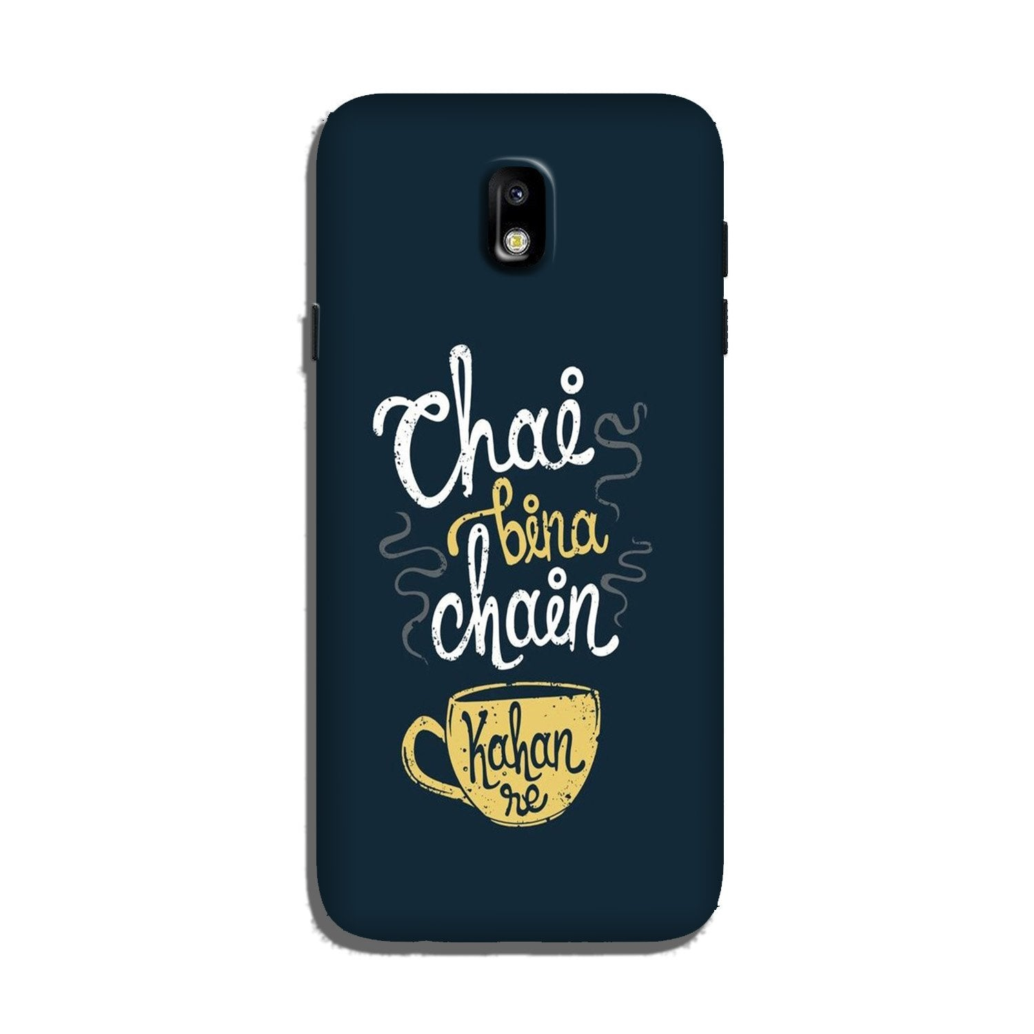 Chai Bina Chain Kahan Case for Galaxy J7 Pro  (Design - 144)