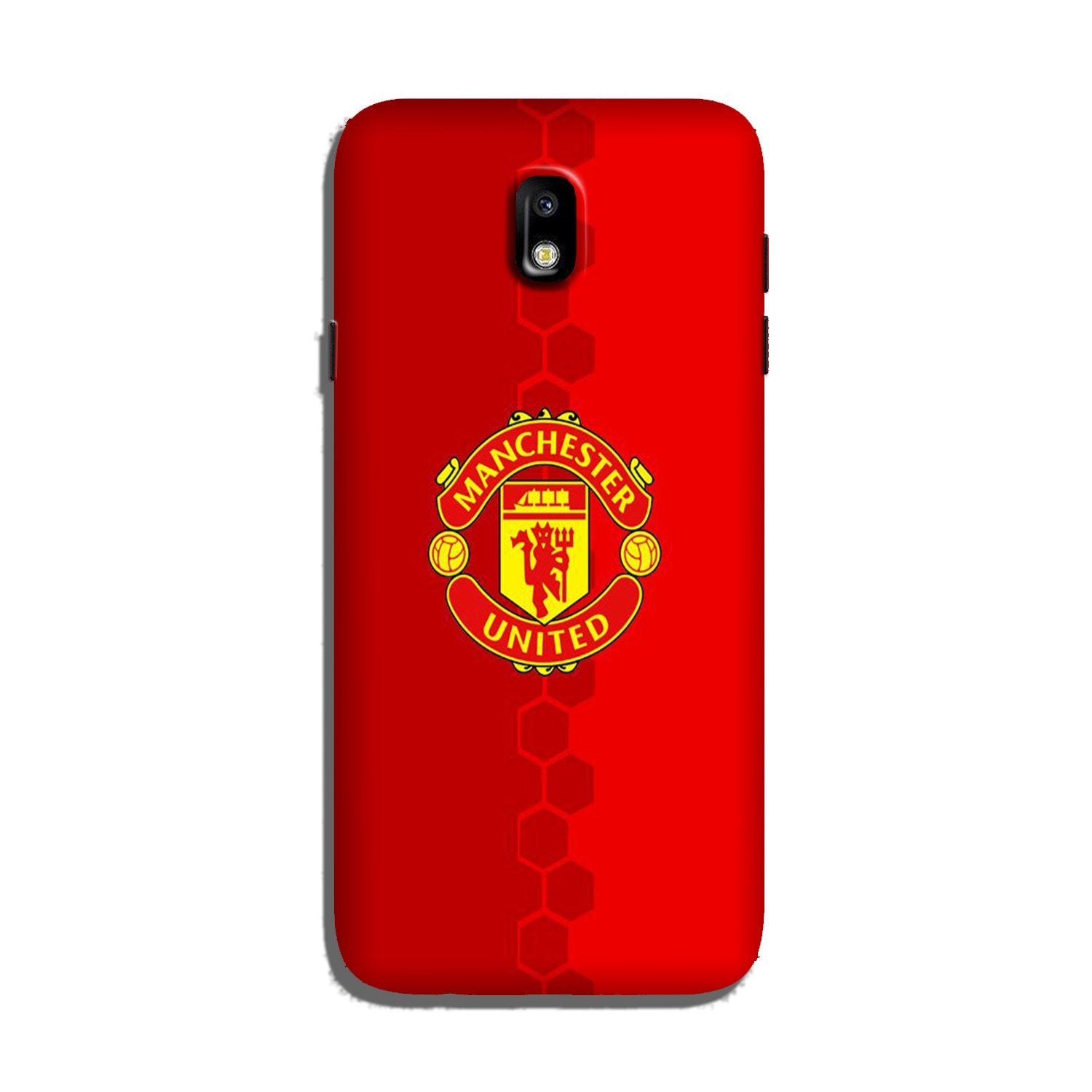 Manchester United Case for Galaxy J7 Pro  (Design - 157)
