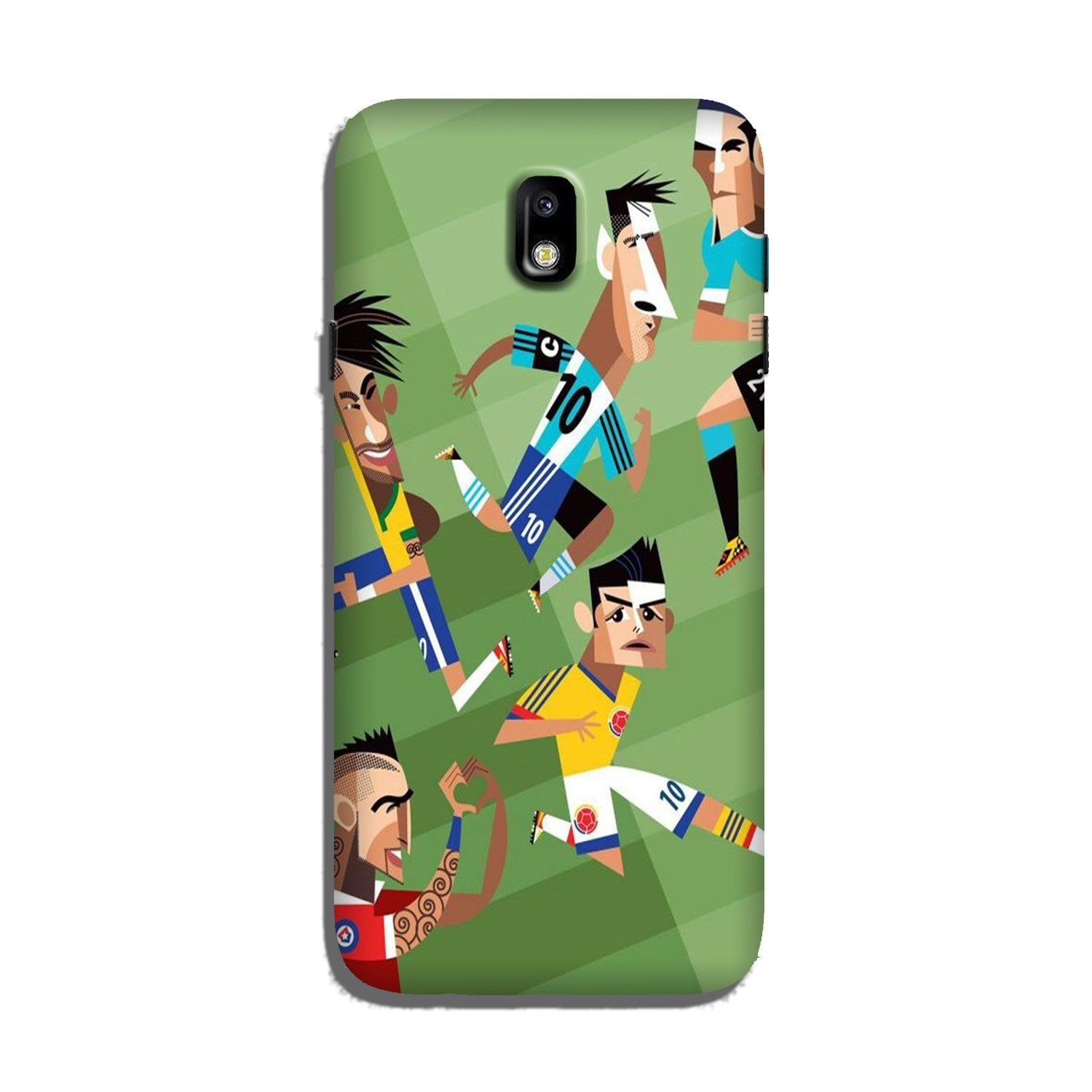 Football Case for Galaxy J7 Pro  (Design - 166)