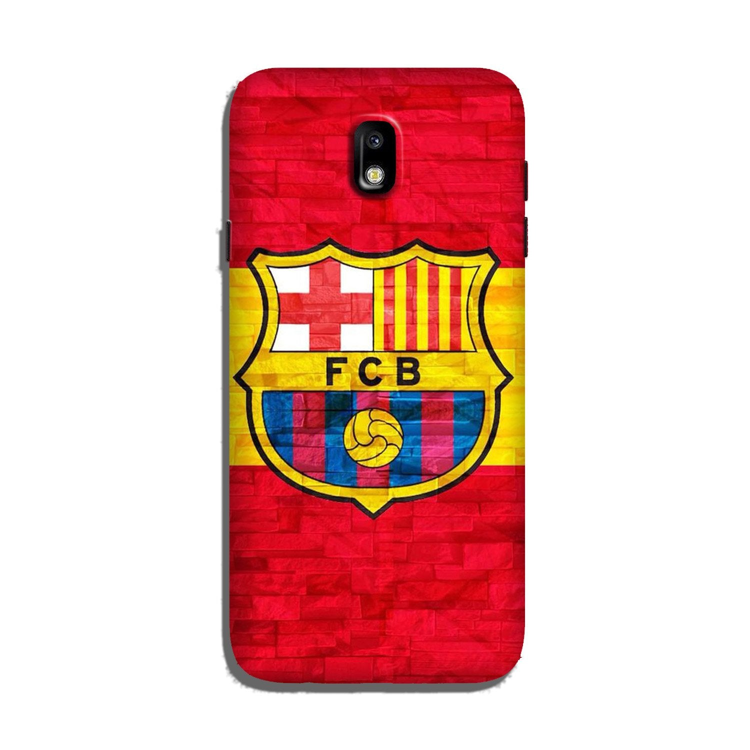 FCB Football Case for Galaxy J7 Pro  (Design - 174)