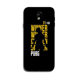 Pubg Winner Winner Case for Galaxy J3 Pro  (Design - 177)
