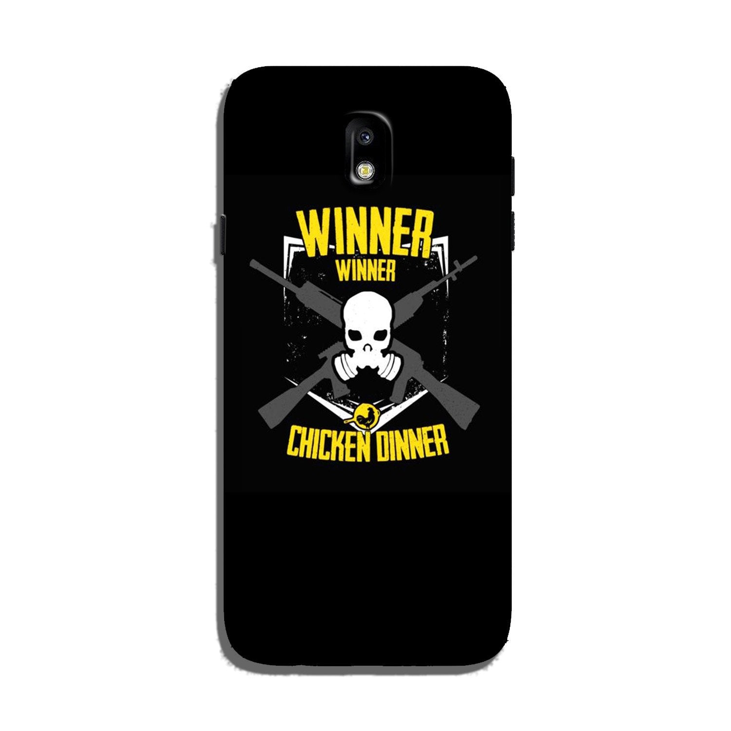Winner Winner Chicken Dinner Case for Galaxy J7 Pro  (Design - 178)