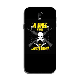 Winner Winner Chicken Dinner Case for Galaxy J3 Pro  (Design - 178)