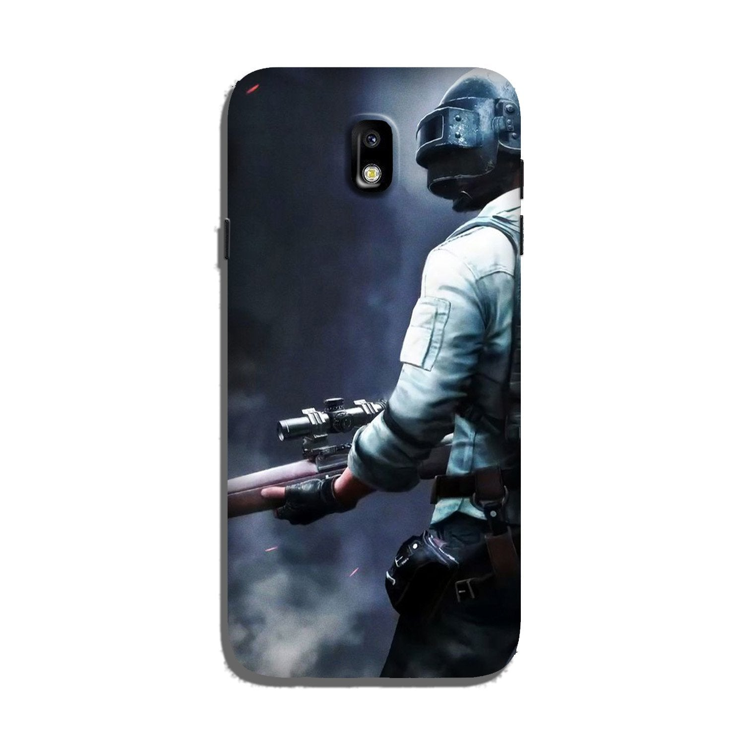 Pubg Case for Galaxy J7 Pro  (Design - 179)
