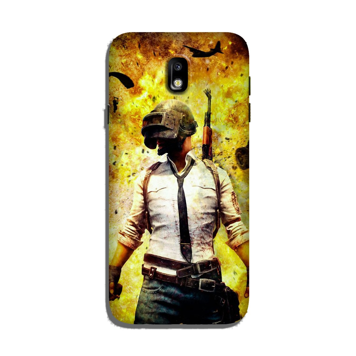 Pubg Case for Galaxy J7 Pro  (Design - 180)