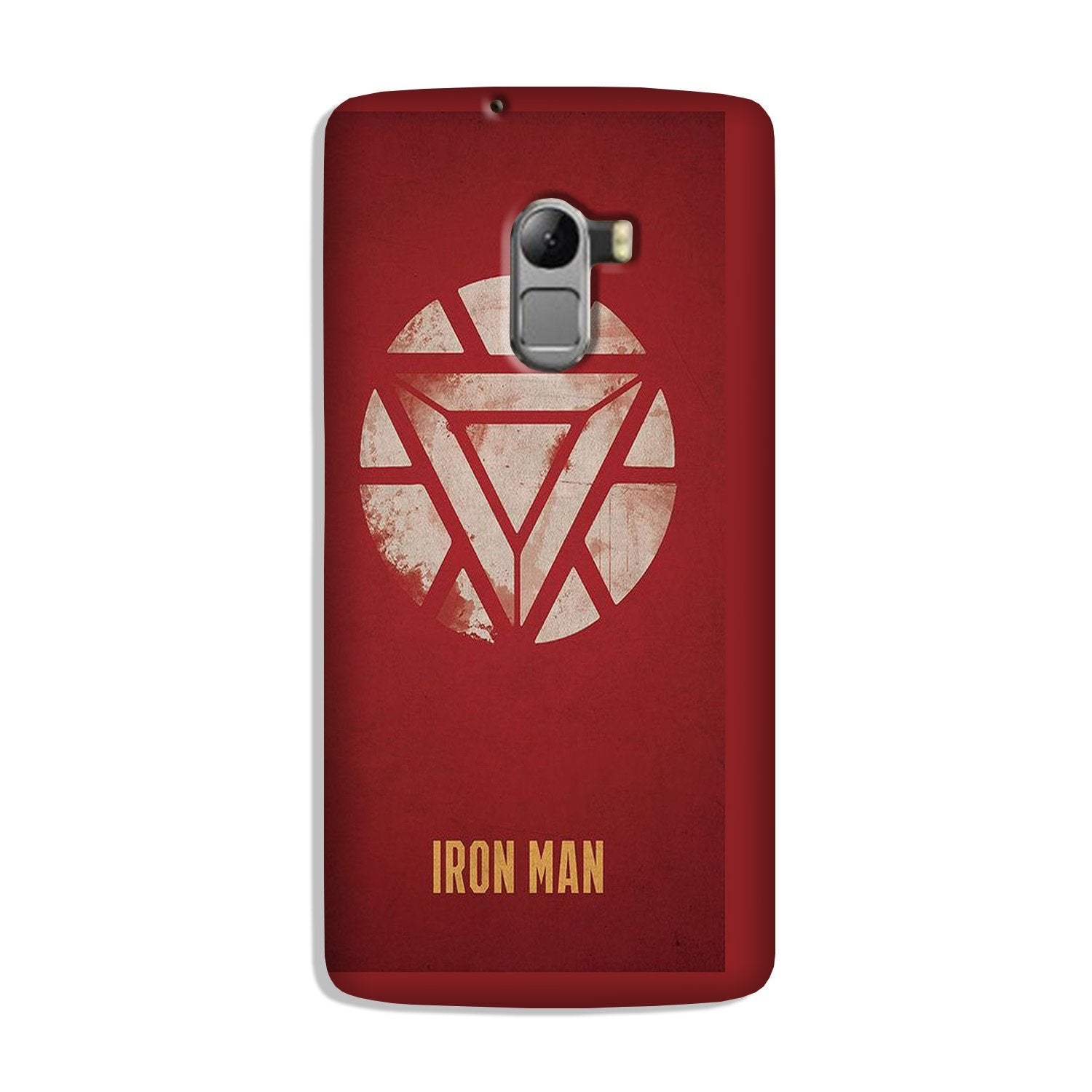 Iron Man Superhero Case for Lenovo K4 Note  (Design - 115)