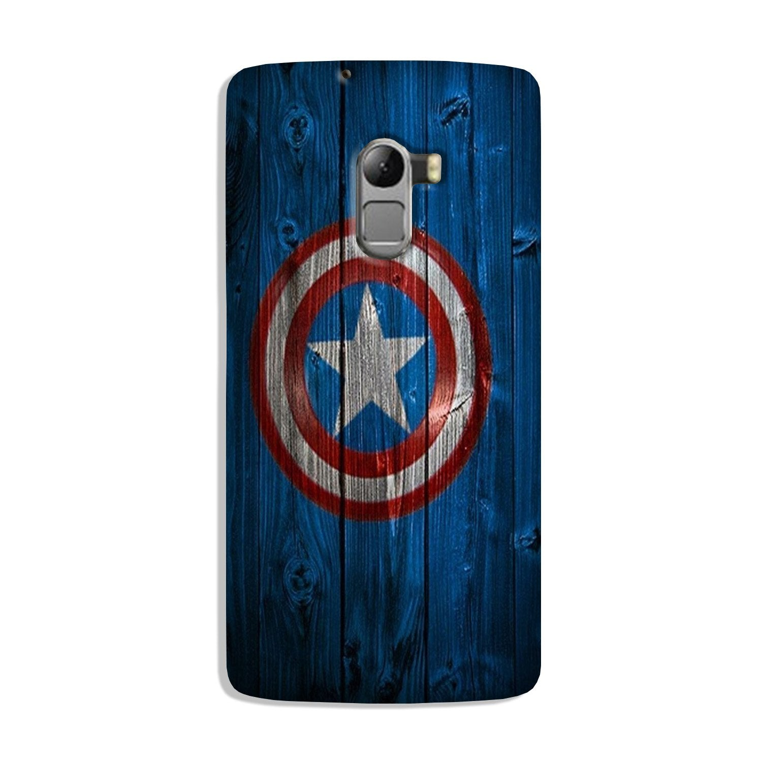 Captain America Superhero Case for Lenovo K4 Note  (Design - 118)