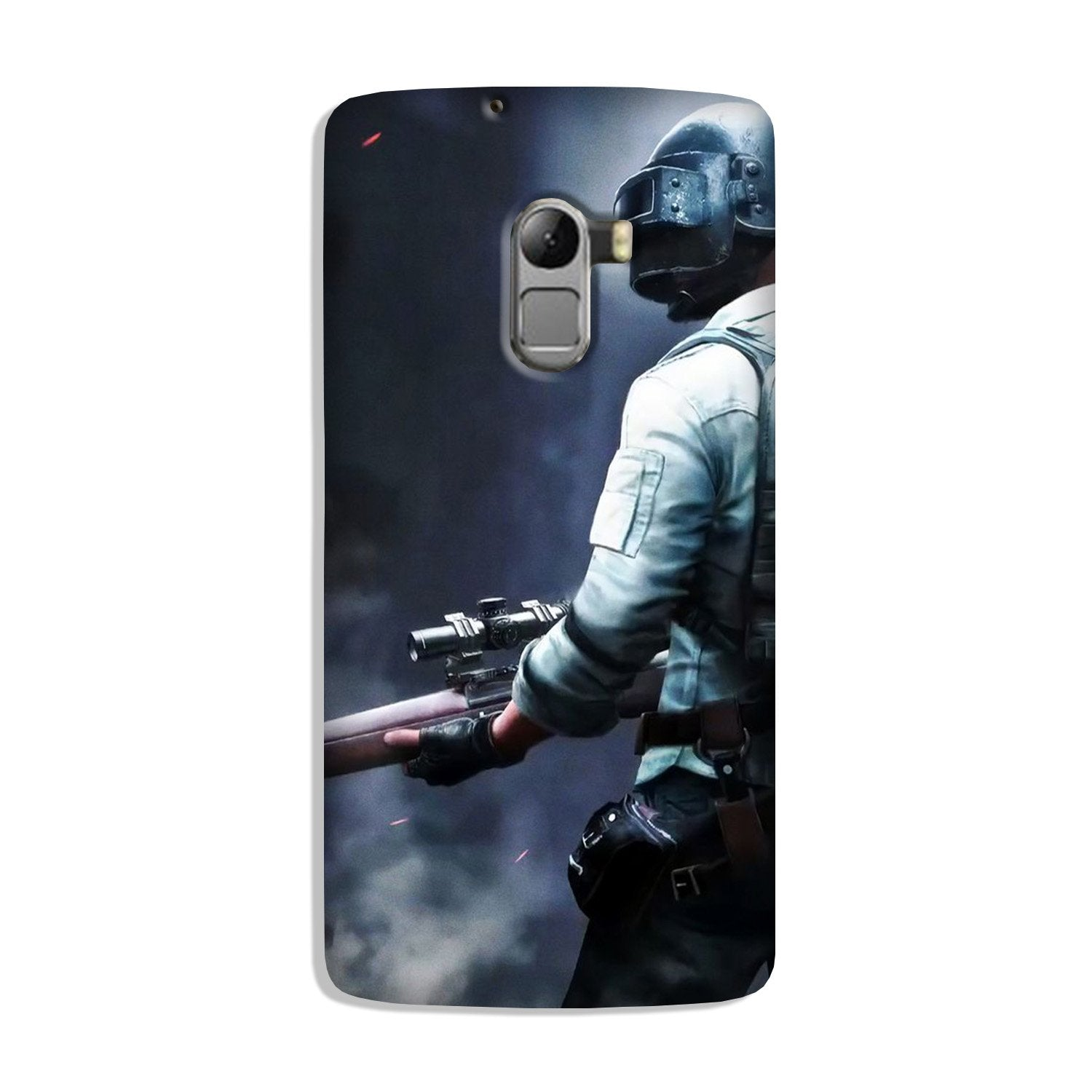 Pubg Case for Lenovo K4 Note  (Design - 179)